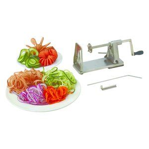 Other - Maxam® Stainless Steel Vegetable Spiral Slicer
